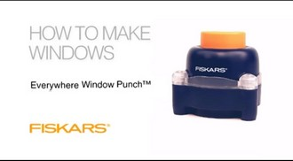 "Компостер Everywhere Window Punch™ ""Квадрат"""